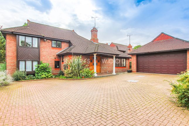 Thumbnail Detached house for sale in Spring Close, Highwoods, Colchester