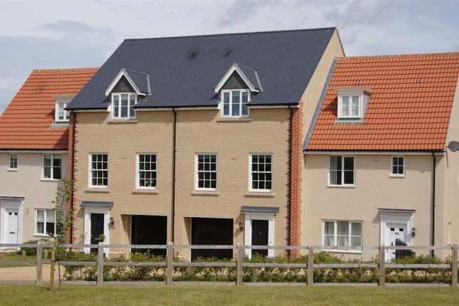 Thumbnail Town house for sale in East Close, Bury St. Edmunds