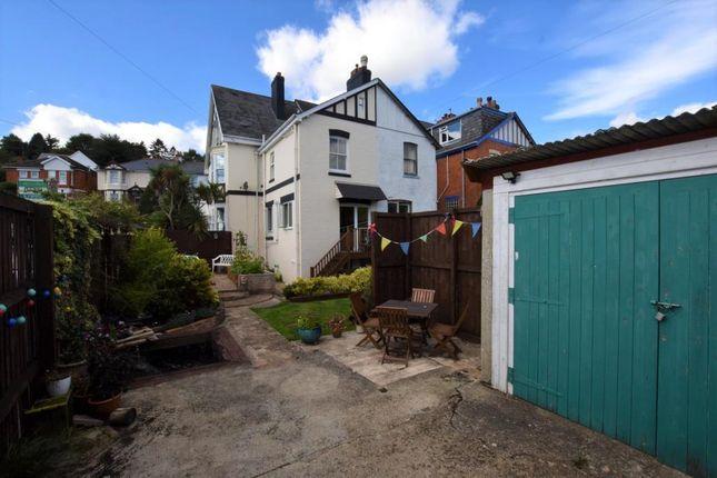 Thumbnail End terrace house for sale in Haldon Avenue, Teignmouth, Devon