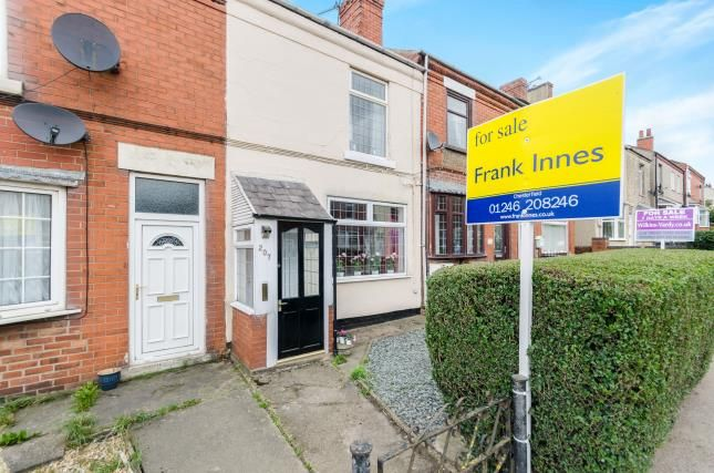 Thumbnail Terraced house for sale in Williamthorpe Road, North Wingfield, Chesterfield, Derbyshire