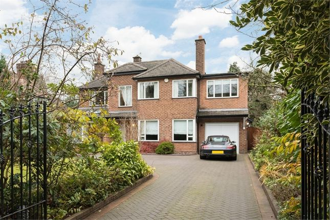 Thumbnail Detached house to rent in Holly Road North, Wilmslow, Cheshire