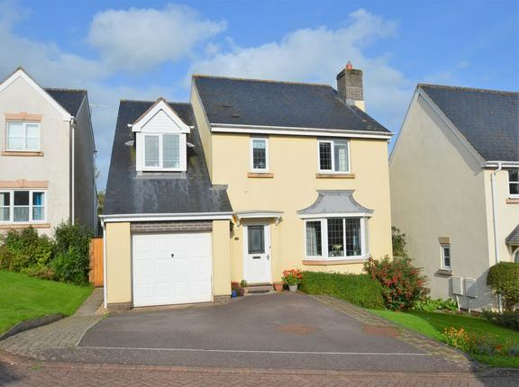 Thumbnail Detached house for sale in Cornlands, Sampford Peverell, Tiverton