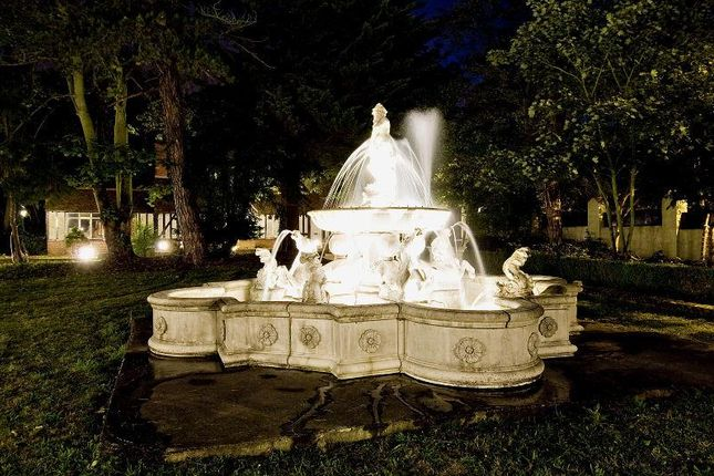 Fountain: of Kingswood House & Queenswood, Clay Hill, Enfield EN2