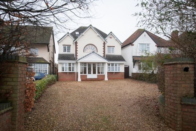 Thumbnail Detached house for sale in Foley Road West, Streetly, Sutton Coldfield
