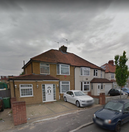 Thumbnail Semi-detached house for sale in Belvue Road, Northolt, London