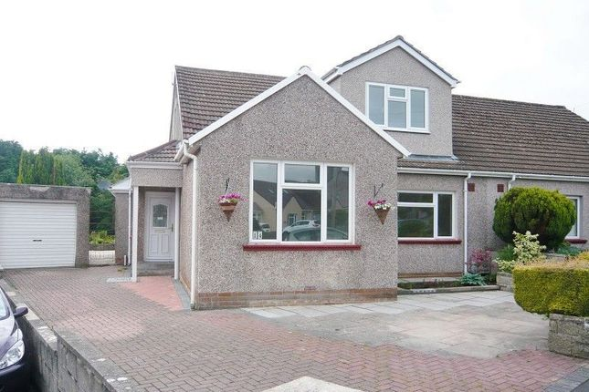 Thumbnail Semi-detached house to rent in The Dell, Laleston, Bridgend, Mid. Glamorgan.