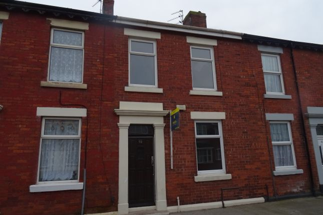 Thumbnail Terraced house to rent in Handsworth Road, Blackpool