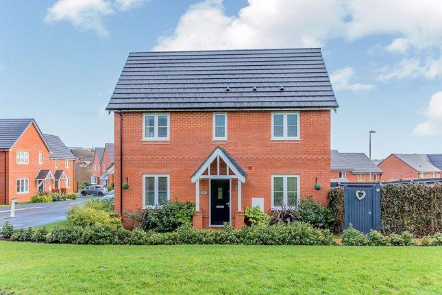Thumbnail Detached house for sale in Sandiacre Avenue, Brindley Village, Stoke-On-Trent