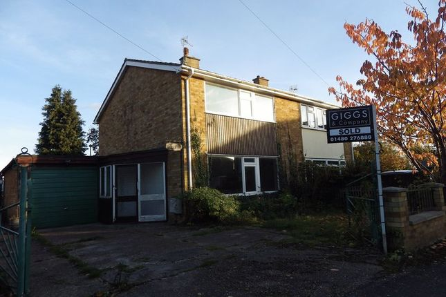 2 bed semi-detached house for sale in Caldecote Road, Eynesbury, St. Neots