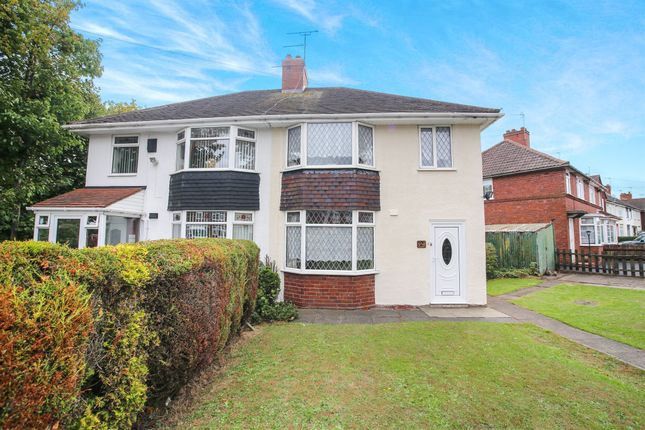 Thumbnail Semi-detached house for sale in Harold Road, Bearwood, Smethwick