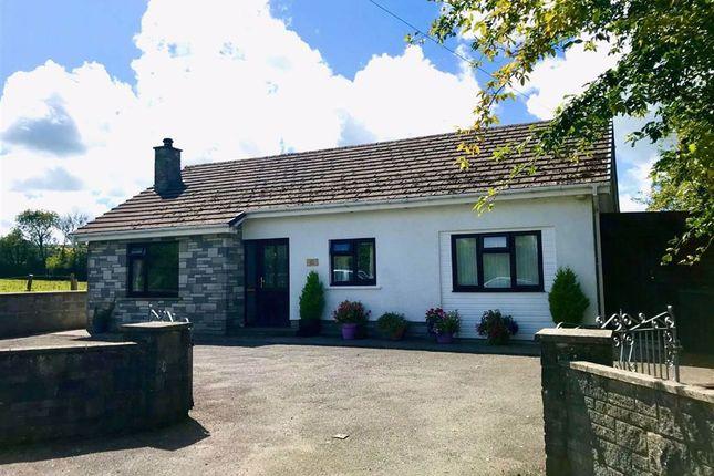 Thumbnail Detached bungalow for sale in Penboyer, Drefach Felindre, Carmarthenshire