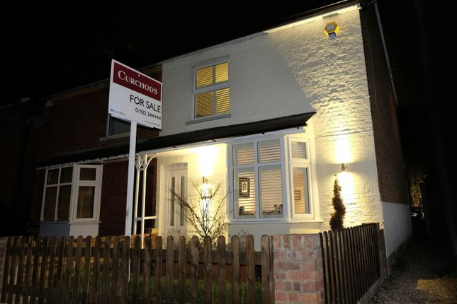 Thumbnail Semi-detached house for sale in Chapel Grove, Addlestone