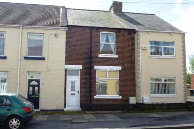 Thumbnail Terraced house to rent in Frederick Street South, Meadowfield, Durham