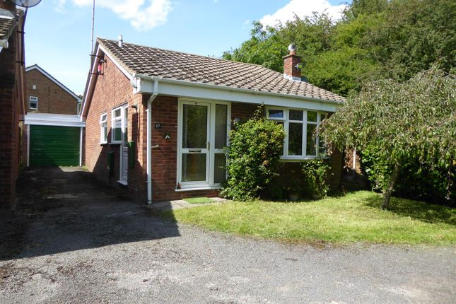 Thumbnail Detached bungalow for sale in Dove Close, Woodville, Swadlincote