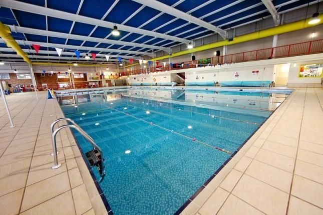Indoor Pool of Trevelgue, Newquay, Cornwall TR8
