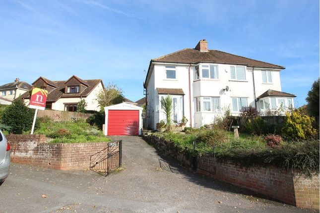 Thumbnail Semi-detached house for sale in Beacon Heath, Exeter