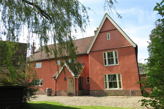 Thumbnail Farmhouse to rent in Thorpe Morieux, Suffolk