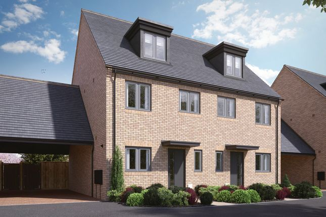 """3 bed semi-detached house for sale in """"Ellington"""" at Gedney Way, St. Neots PE19"""
