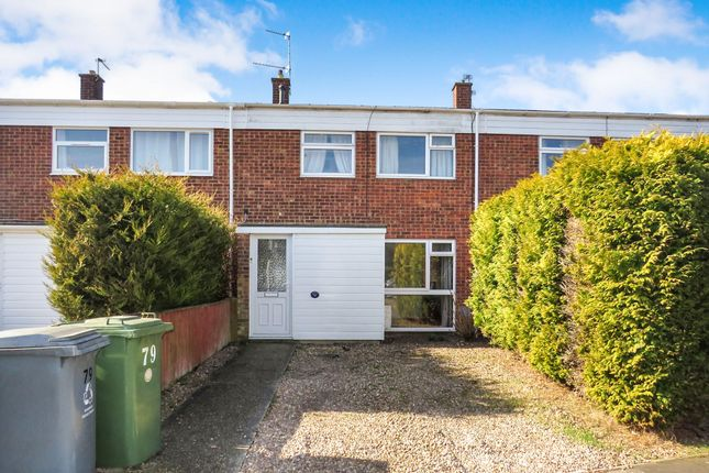 Thumbnail Terraced house for sale in Cere Road, Sprowston, Norwich