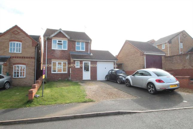 Thumbnail Detached house for sale in Keston Way, Raunds, Wellingborough