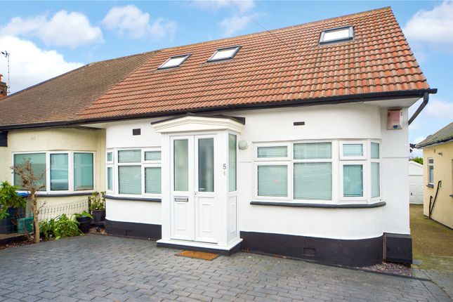 4 bed semi-detached bungalow for sale in Winston Avenue, London NW9