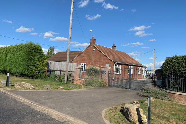 Detached bungalow for sale in Burnt House Road, Turves, Peterborough