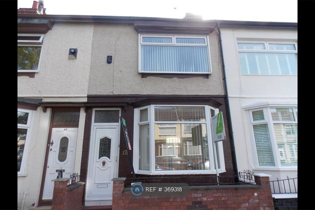 Thumbnail Terraced house to rent in Ince Avenue, Liverpool