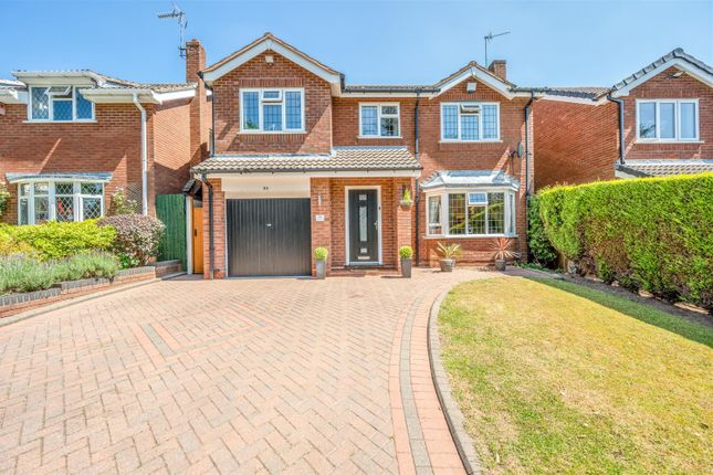 Thumbnail Detached house for sale in Grasmere Close, Kingswinford
