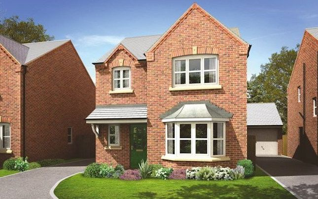 Thumbnail Detached house for sale in The Dunham 2, Brindle Avenue, Coventry