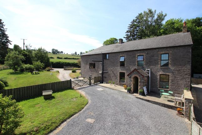 Thumbnail Detached house for sale in Talyllyn, Brecon