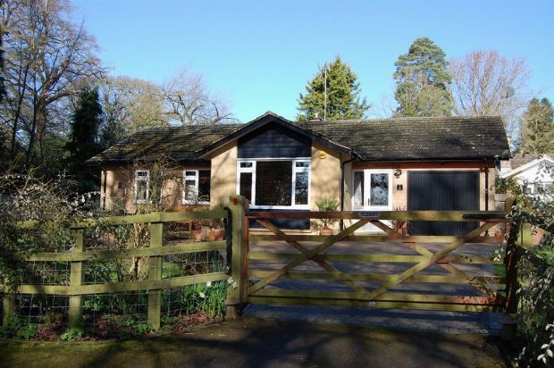 Thumbnail Detached bungalow for sale in The Glebe, Flore, Northampton