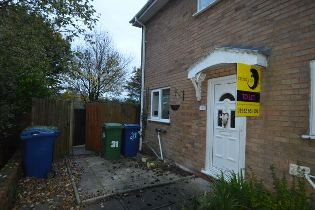 2 bed mews house to rent in Maycroft Close, Hednesford, Cannock WS12