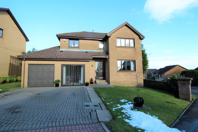 Thumbnail Detached house for sale in Turnberry Gardens, Cumbernauld