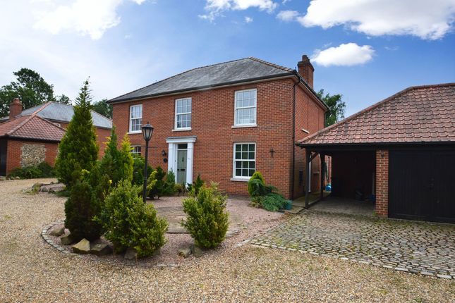 Thumbnail Detached house to rent in High Street, Stetchworth, Newmarket