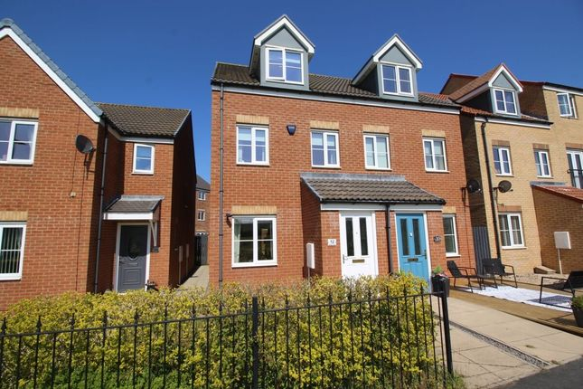 Semi-detached house for sale in Kielder Drive, The Middles, Stanley