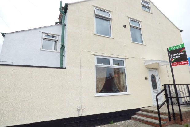 Thumbnail End terrace house to rent in Olivia Street, Bootle