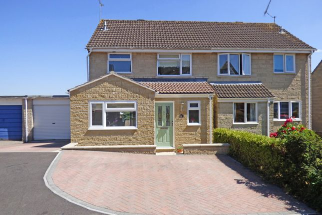 Thumbnail Semi-detached house for sale in Rodber Close, Wincanton