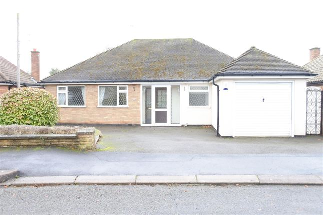 Thumbnail Semi-detached bungalow to rent in Knights Crescent, Rothley, Leicester