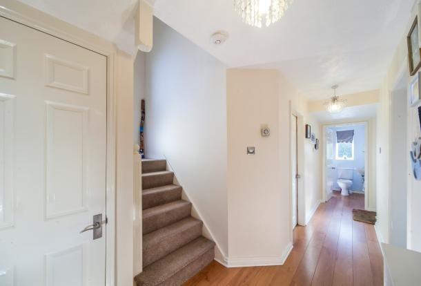 Entrance Hallway of Norbreck Close, Great Sankey, Warrington, Cheshire WA5
