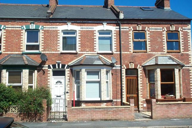 Thumbnail Terraced house to rent in Cornwall Street, St Thomas, Exeter