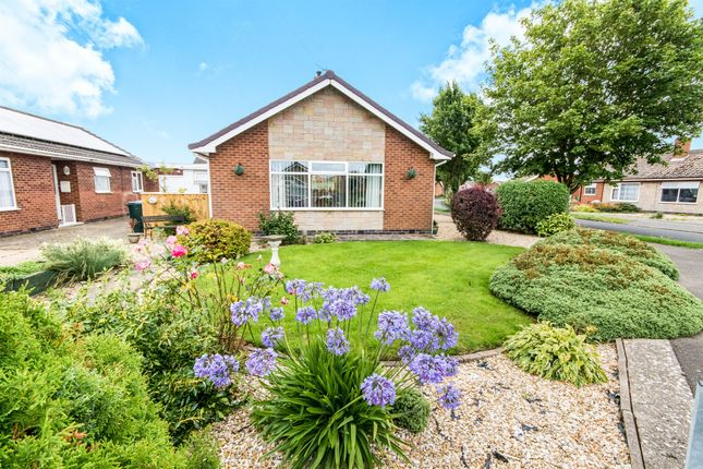 Thumbnail Detached bungalow for sale in Melbourne Drive, Skegness