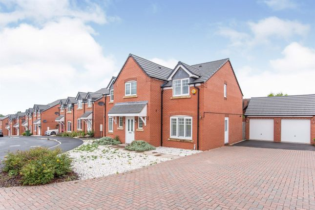 Thumbnail Detached house for sale in Groves Way, Hartlebury, Kidderminster