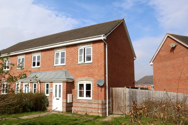 Thumbnail End terrace house for sale in Wiltshire Crescent, Highfields, Basingstoke