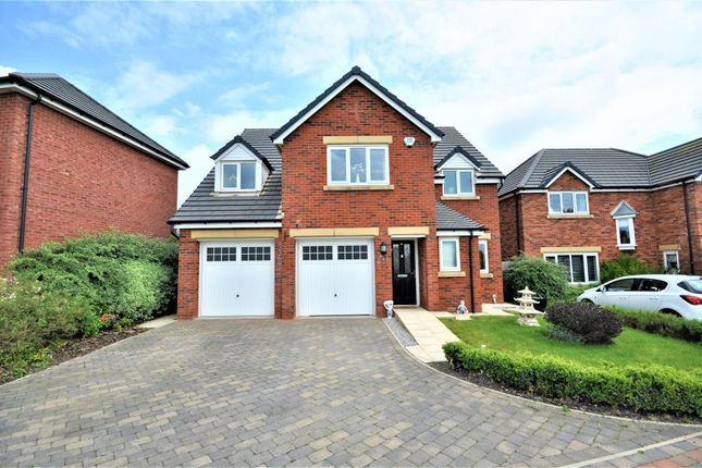 Thumbnail Detached house for sale in Benedict Drive, Normoss, Blackpool, Lancashire