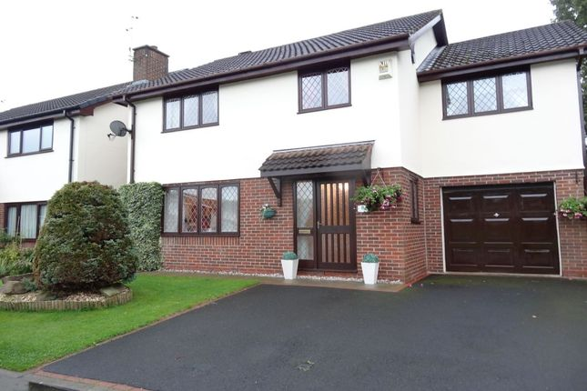 Thumbnail Detached house for sale in Mason House Crescent, Ingol, Preston