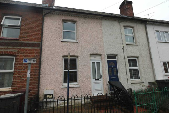 Thumbnail Terraced house for sale in Elgar Road, Reading
