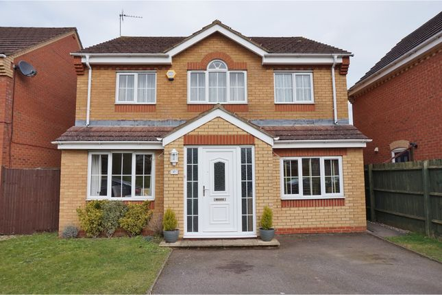 Thumbnail Detached house for sale in Bourton Way, Wellingborough