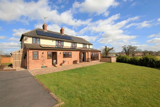 Thumbnail Detached house for sale in Stone Road, N/R Bramshall, Uttoxeter
