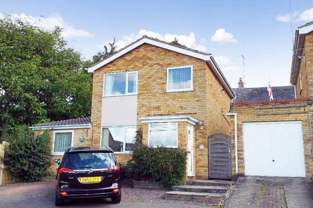 Thumbnail Detached house for sale in Abbey Rise, Wollaston, Northamptonshire
