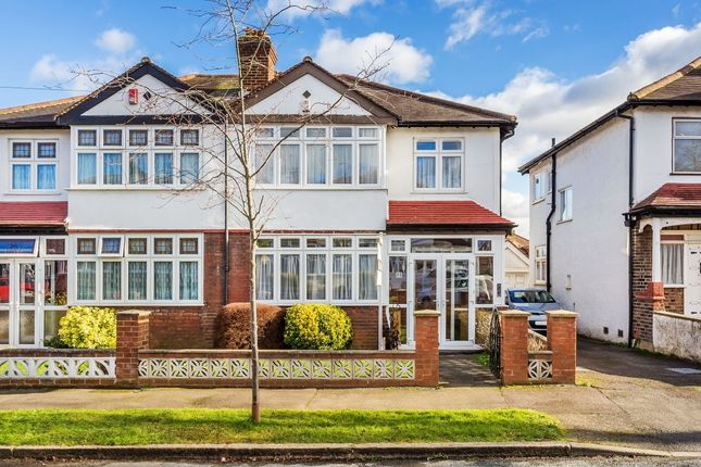 Thumbnail Semi-detached house for sale in Royston Avenue, Wallington